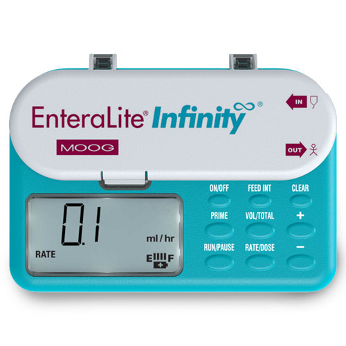 464-INFKIT2 - ENTERAL PUMP PURCHASE PORTABLE INFINITY TEAL 2YR WTY MADE IN USA (EA)