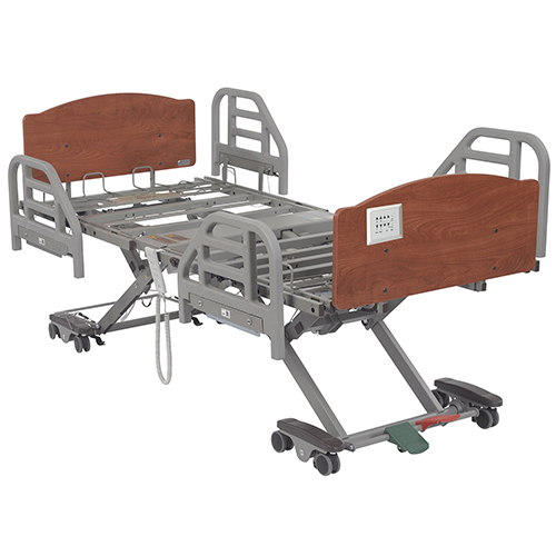 600-BED5 - BEDS ADJ HT FULL-ELEC SLAT DECK 600LB CAP EXPAND 80IN TO 88IN L X 36IN TO 42IN W (EA)