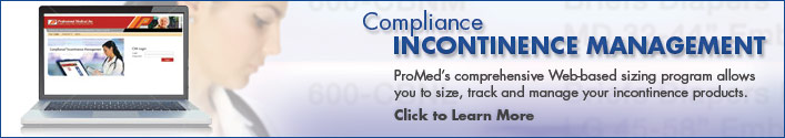 Compliance Incontinence Management Banner